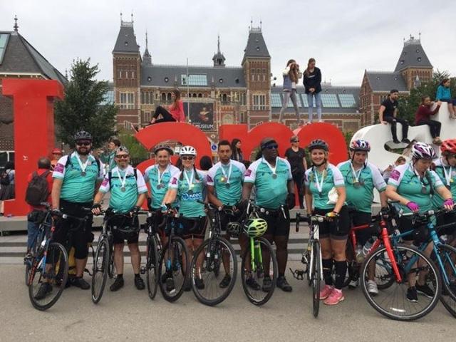 Luton to Amsterdam Challenge Completed